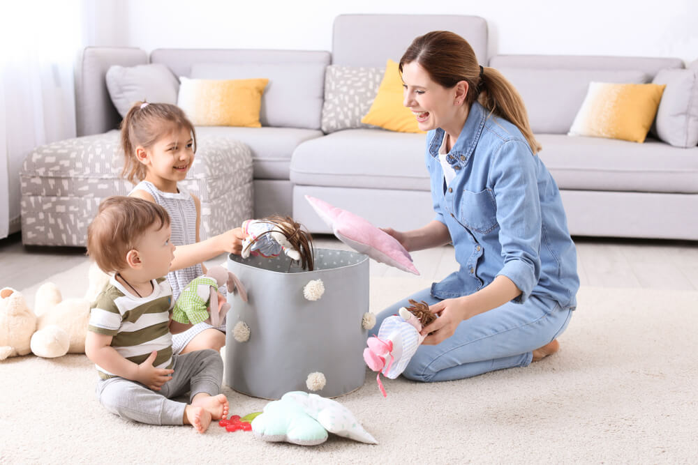Cleaning Habits To Teach Kids